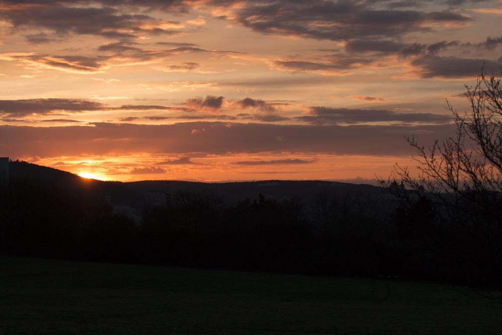 Mehr Sonnenuntergang