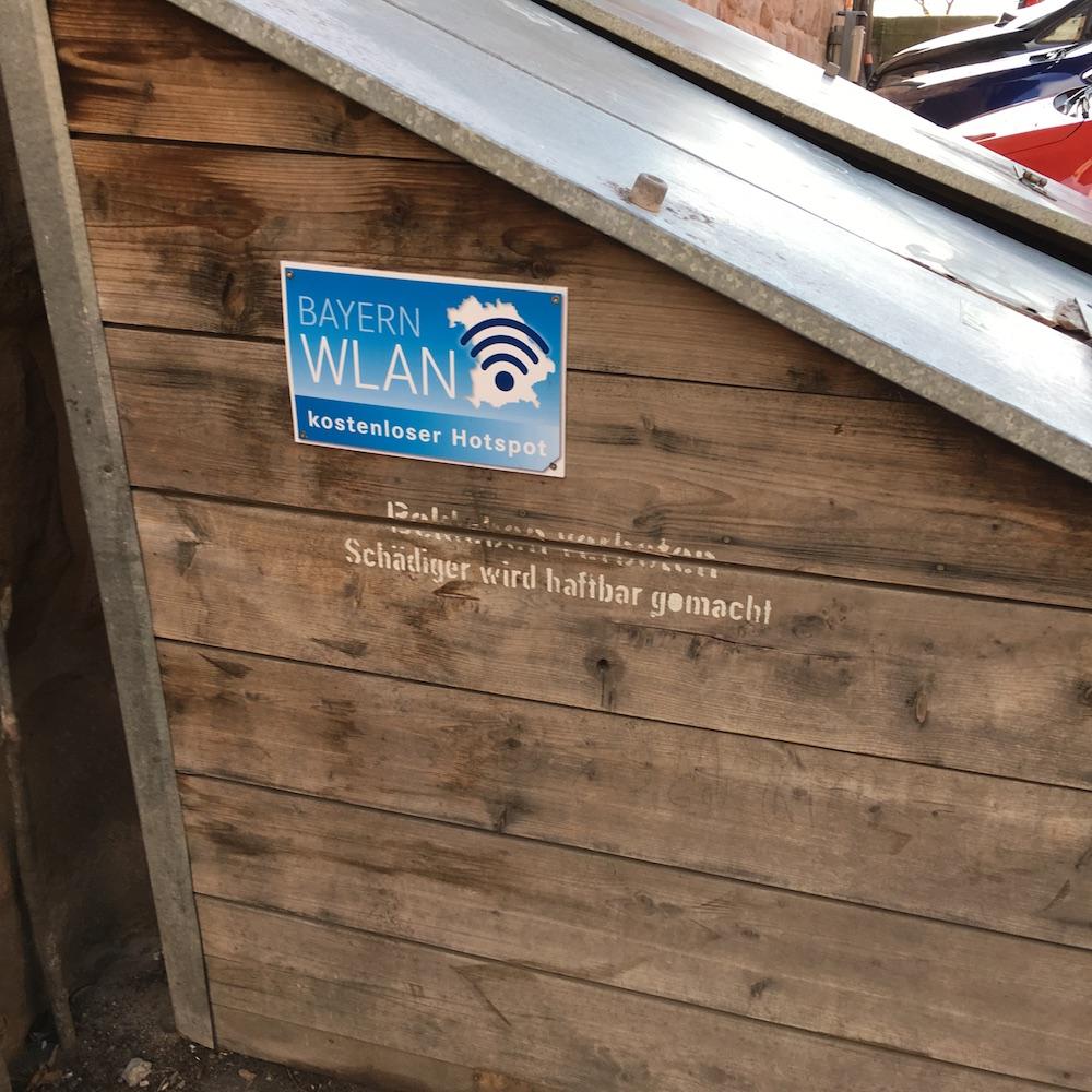 WLAN in Bayern